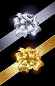 Gold And Silver Bow