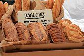 Fresh crusty breads