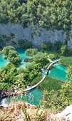 Pltvice Lakes and waterfalls in Croatia, Europe