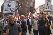 KRAKOW, POLAND - JUNE 1 , 2014 : Rally against abortion in defense of life and family. Inscriptions