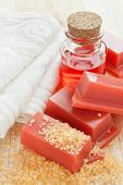 Wax For Hair Removal, Towel And Roses Oil