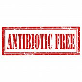 Antibiotic Free-stamp