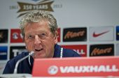 Manager Roy Hodgson Of England