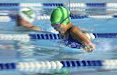 pic of swim meet  - SWIMMING RACE - JPG