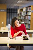 Woman In Library Found Something Very Interesting