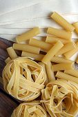 Lot Of Raw Pasta
