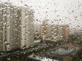 Raindrops on the window 001