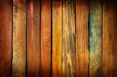 stock photo of wood pieces  - Wood paneling made from antique or vintage marronnier tree wood pieces - JPG