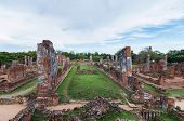 Ruined Temple, Wat Phra Si Sanphet, At Ayutthaya Historical Park, Thailand