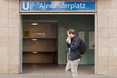 Berlin Alexanderplatz Subway Station