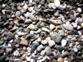 Abstract filtered pebble background