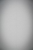 Gradient White Color Perforated Metal Sheet