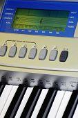 music keyboard details