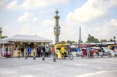 Paris. On The Place De La Concorde