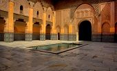 Landmark Of Ben Youssef Madrasa