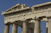 foto of parthenon  - Greece the Parthenon in the city of Athenes - JPG