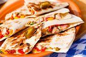 stock photo of tacos  - chicken tacos - JPG
