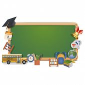 pic of knapsack  - Schooling Board with hat - JPG