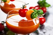 foto of melon  - Delicious cold Tomato - JPG