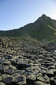 Hexagonal Rocks Of The Giants Causeway
