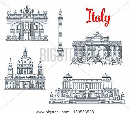 Italy famous architecture