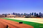 San Diego Skyline From Lindbergh Field