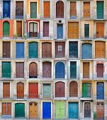 colored front doors, Barcelona Vol2