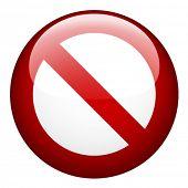 proibição em branco de vetor