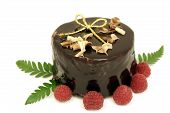 Natal bolo de Chocolate