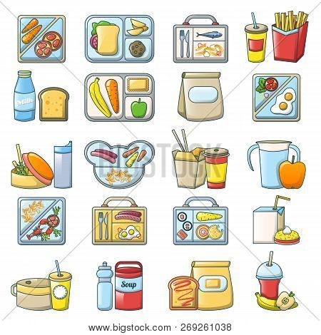 Lunch Break Lunch Food Icons