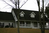 Modern Home With Dormer Windows