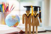 Australia Education Knowledge Learning Study Abroad International Ideas. People Sign Wood With Gradu poster