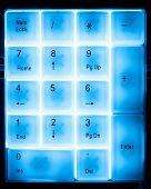 numeral pad keyboard