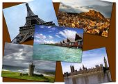 stock photo of damme  - Postcard of landmarks  - JPG
