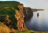 foto of cliffs moher  - Cliffs of Moher in Ireland - JPG