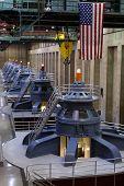 Hoover Dam - turbines