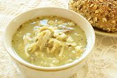 stock photo of tripe  - Polish tripe soup  - JPG