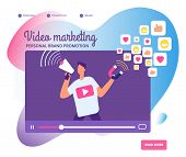 Viral Video Marketing. Personal Brand Promotion, Social Network Communication And Influencers Videos poster
