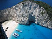 Smugglers Wreck, Zakynthos, Greece