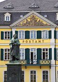 stock photo of bonnes  - Beethoven statue in Bonn - JPG