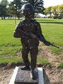 Veterans Memorial Statue Ii