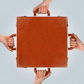 Briefcase Hands