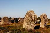 Megalithic Monuments In Carnac