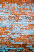Distressed Brick Wall