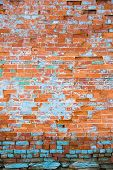 Distressed Brick Wall 4