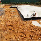 Foundation For New House