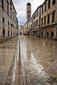 Dubrovnik In The Dawn Rain
