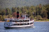 Sightseeing On Lake George, New York State