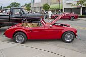 1988 Red Sebring Roadster Car