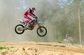 Lytkarino, Moscow Region, Russia - 18 May 2013: Motocross Cup Motor Club
